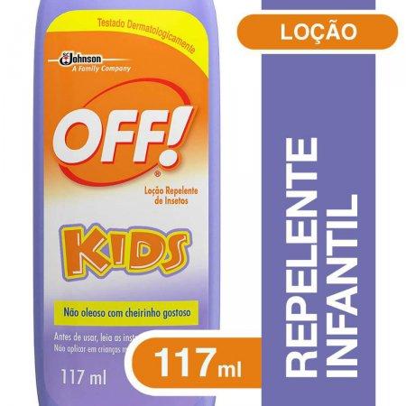 Repelente Loção Off! Kids