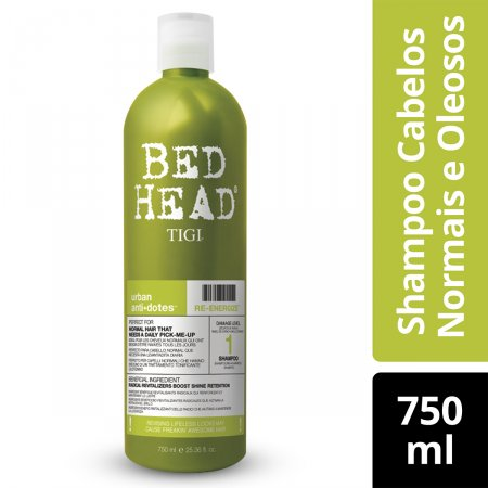 Shampoo Bed Head Urban Anti+dotes Re-energize