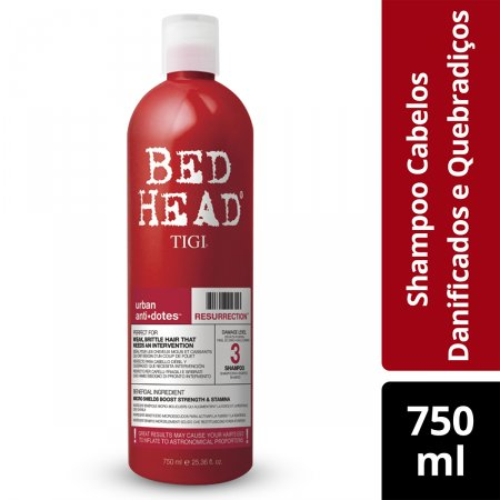 Shampoo Bed Head Urban Anti+dotes Resurrection