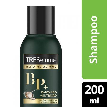 Shampoo Tresemmé Baixo Poo + Nutrição