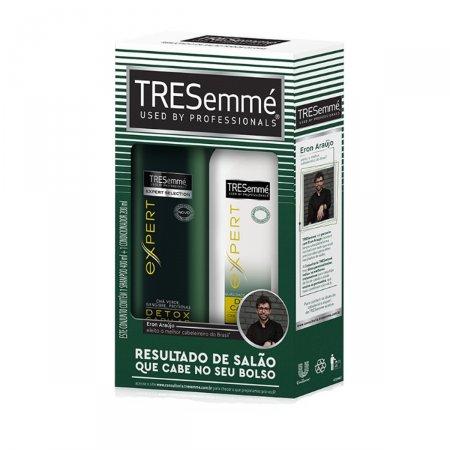 Kit Shampoo + Condicionador Tresemmé Detox Capilar