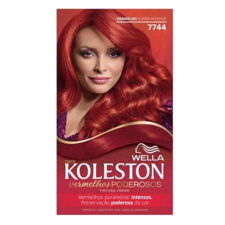 Tintura Creme Koleston Nº7744 Vermelha Super intenso