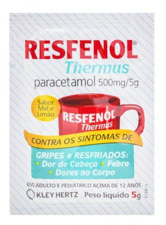 Resfenol Thermus Sabor Mel e Limão