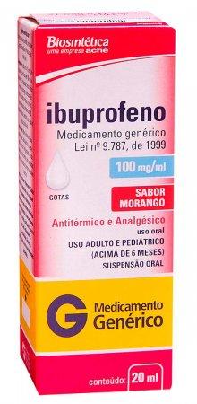 Ibuprofeno 100mg