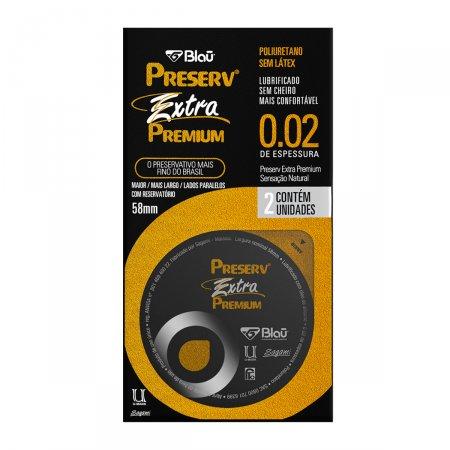 Camisinha Preserv Extra Premium com 2 unidades