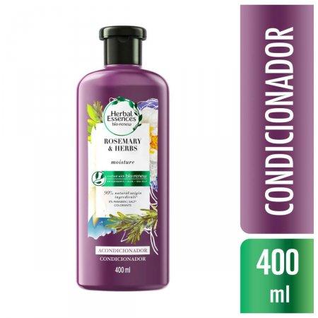 Condicionador Herbal Essences Bio:Renew Alecrim e Ervas 400ml | Drogaraia.com Foto 2