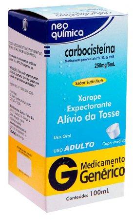 Carbocisteína 50mg/ml
