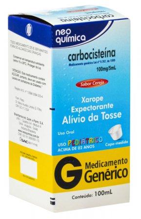 Carbocisteína 20mg/ml