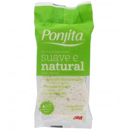 Esponja para Banho Ponjita Sauve Natural