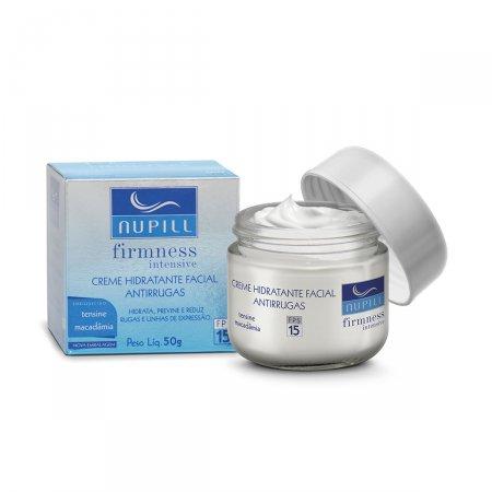 Creme Hidratante Facial Antirrugas Nupill FPS 15 com 50g