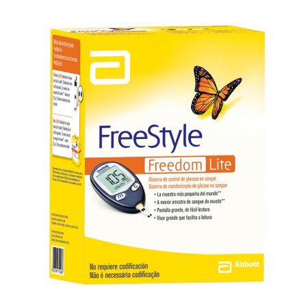 Kit Monitor de Glicemia Freestyle Freedom Lite