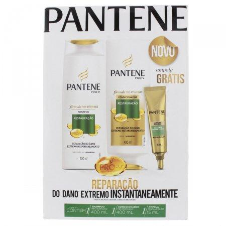 Shampoo + Condicionador Pantene Restauração