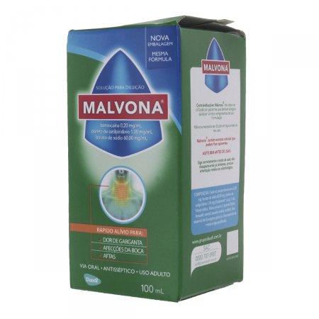 Embalagem Malvona 100 mL