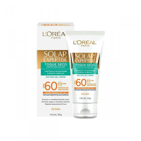 Protetor Solar Facial Expertise Toque Seco FPS 60