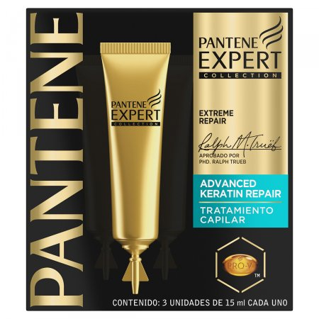 Kit Ampola de Tratamento Capilar Pantene Expert Advanced Keratin Repair