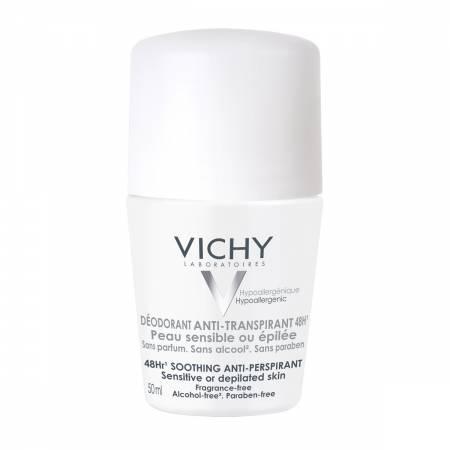 Desodorante Antitranspirante Roll-On Peles Sensíveis 48h