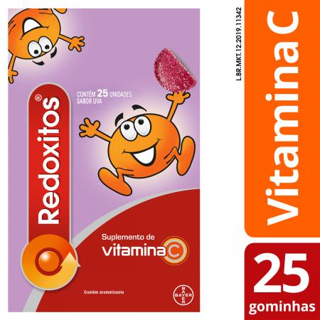 Redoxitos Vitamina C Sabor Uva