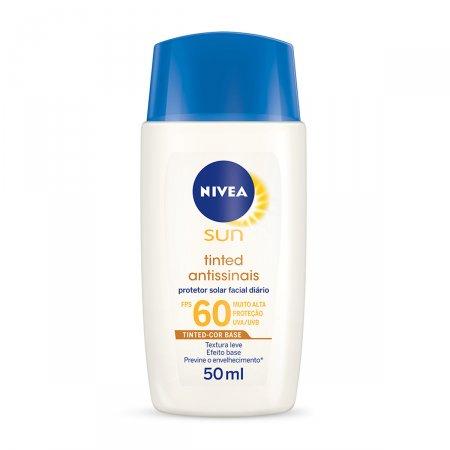Protetor Solar Facial Tinted Antissinais FPS 60