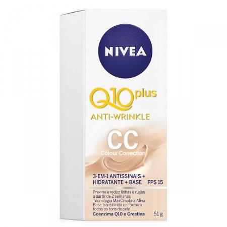 Creme Antissinais Q10 CC FPS15