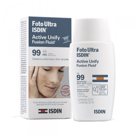 Clareador Facial Isdin Active Unify