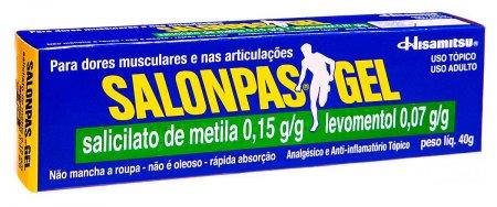 Salonpas Gel com 40g
