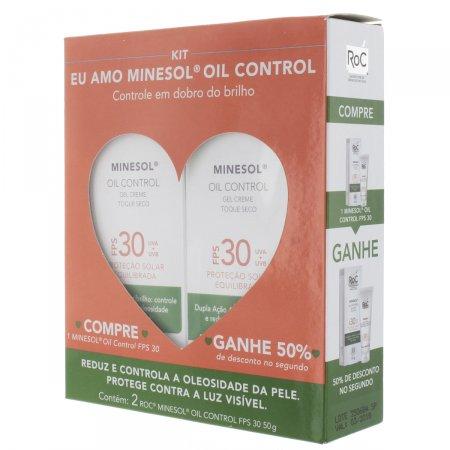 Kit Protetor Solar Roc Minesol Oil Control FPS30