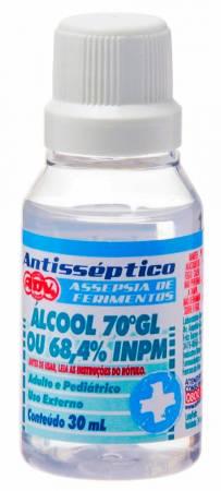 Álcool Etilico Hidratado 70%