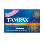 Absorvente Interno Tampax Super Plus 10 Unidades