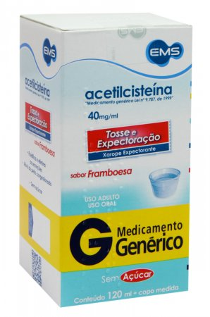 Acetilcisteína 40mg Ems Xarope com 120ml
