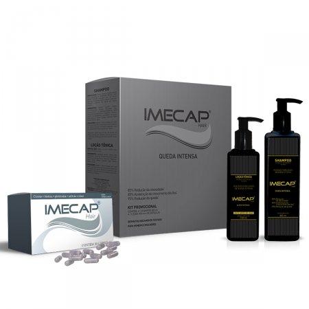 Kit Imecap Hair Queda Intensa