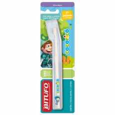 547e06566 Escova Dental infantil Bitufo Cocoricó Primeiro Dentinho