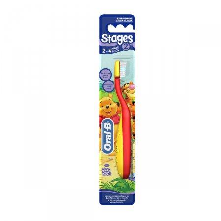 Escova Dental Infantil Oral B Stages 2