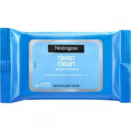 Lenço Demaquilante Neutrogena Deep Clean