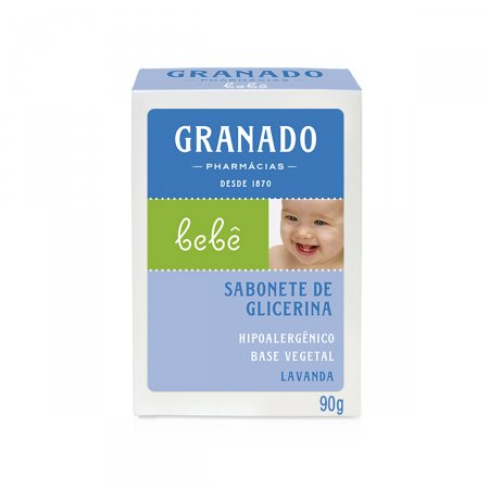 Sabonete de Glicerina Granado Infantil Bebê Lavanda
