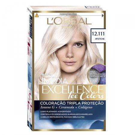 Coloração Imédia Excellence Ice Colors N°12.111 Fetiche