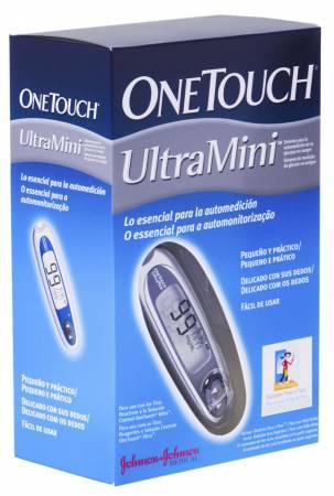 Monitor para Controle de Glicemia Ultra Mini Prata