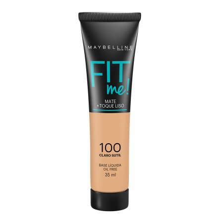 Base Líquida Maybelline Fit Me Nº100 Claro Sutil