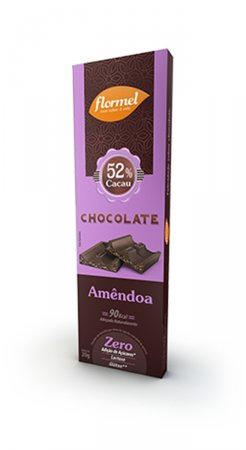 Barra de Chocolate com Amêndoas