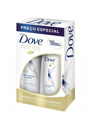 Kit Shampoo + Condicionador Dove Reconstrução Completa