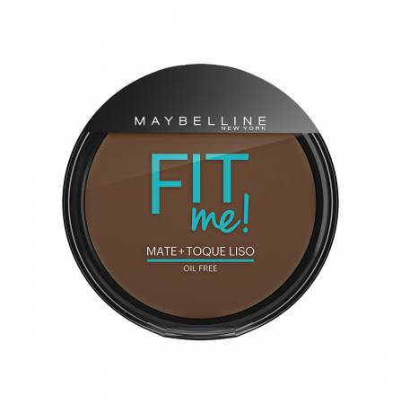 Pó Compacto Maybelline Fit Me N°340 Escuro Autentical