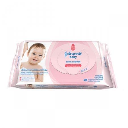 Toalhas Umedecidas Johnson's Baby Extra Cuidado