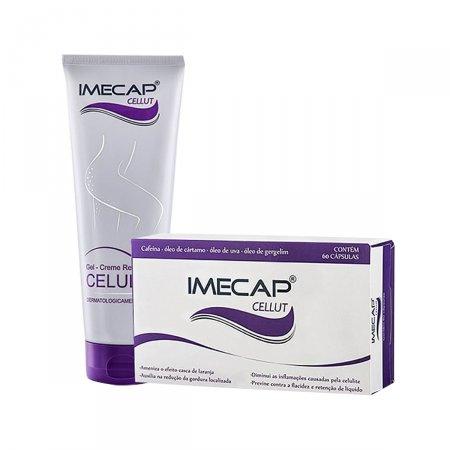 Kit Gel-Creme Redutor de Celulite + 60 Cápsulas de Cellut