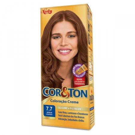 Coloração Creme N° 7.7 Marron Dourado