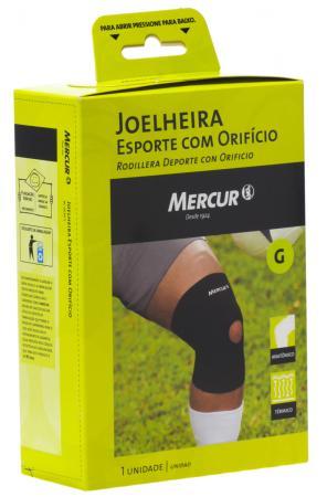 Joelheira Esporte com Orifício Tamanho G