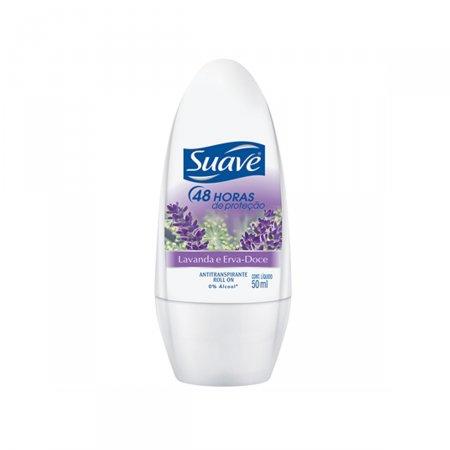 Desodorante Roll on Suave Lavanda e Erva Doce