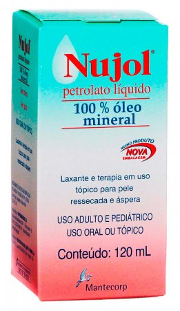 Nujol Oléo Mineral