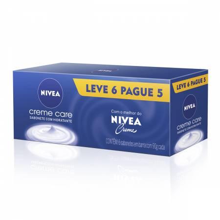 Kit Sabonete Nivea Creme Care