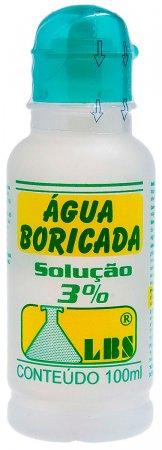 Água Boricada 3%
