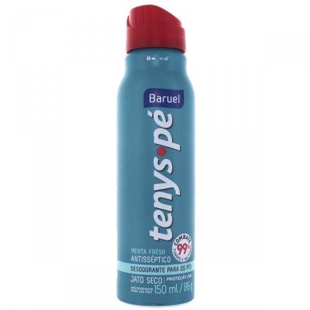 Desodorante para os pés Jato Seco Tenys Pé Menta Fresh