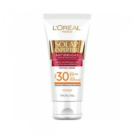 Protetor Solar Facial L'oréal Expertise Antirrugas FPS30